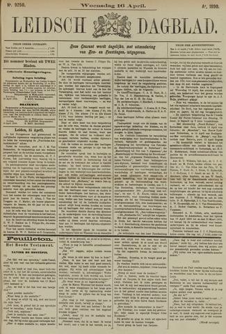Leidsch Dagblad 1890-04-16