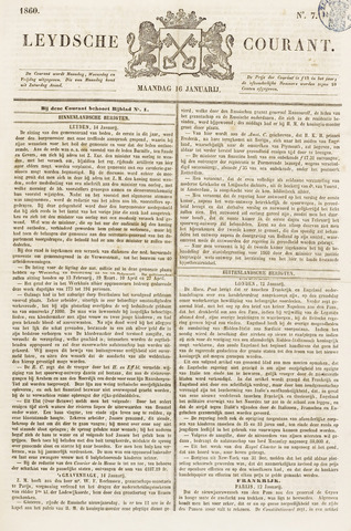 Leydse Courant 1860-01-16