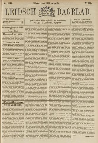 Leidsch Dagblad 1893-04-22
