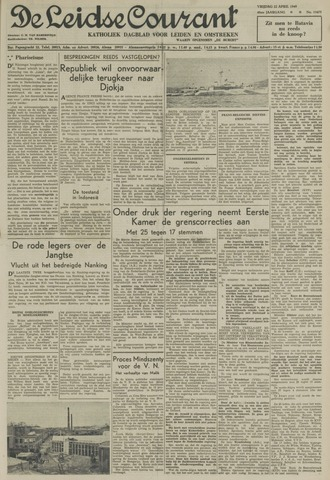 Leidse Courant 1949-04-22