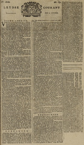 Leydse Courant 1808-10-31