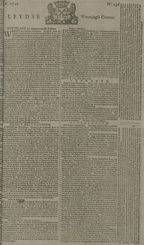 Leydse Courant 1749-11-12
