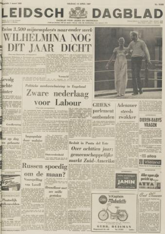 Leidsch Dagblad 1967-04-14