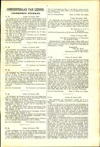 Handelingen van de Raad 1905-01-16