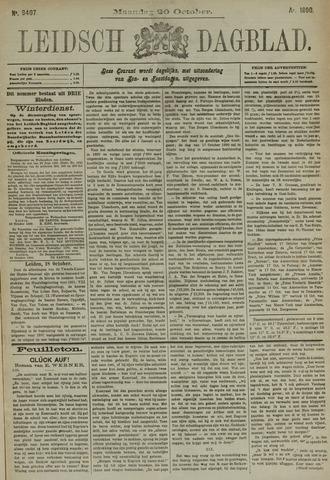 Leidsch Dagblad 1890-10-20