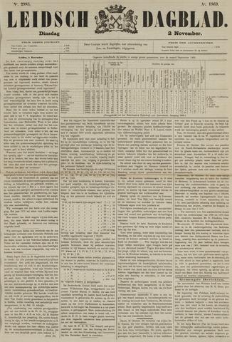 Leidsch Dagblad 1869-11-02
