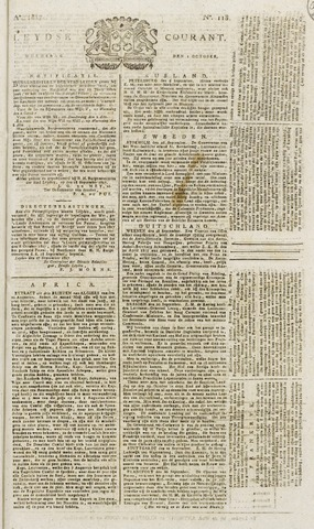 Leydse Courant 1817-10-01