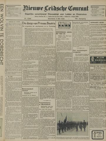 Nieuwe Leidsche Courant 1938-05-09