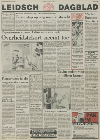 Leidsch Dagblad 1985-07-04