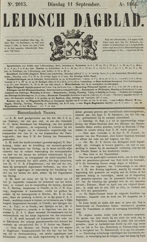 Leidsch Dagblad 1866-09-11