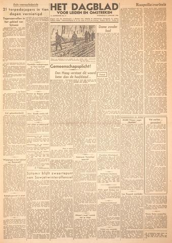 Dagblad voor Leiden en Omstreken 1944-01-05