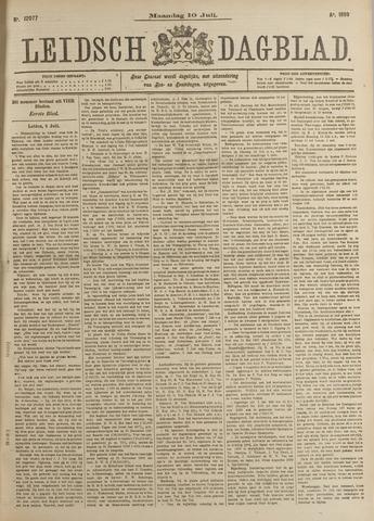 Leidsch Dagblad 1899-07-10