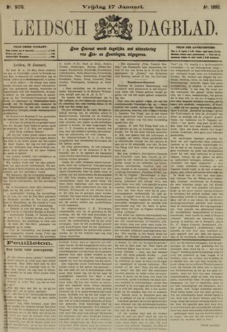 Leidsch Dagblad 1890-01-17