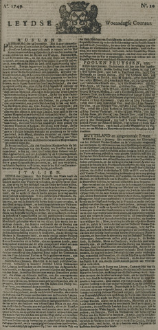 Leydse Courant 1749-01-22