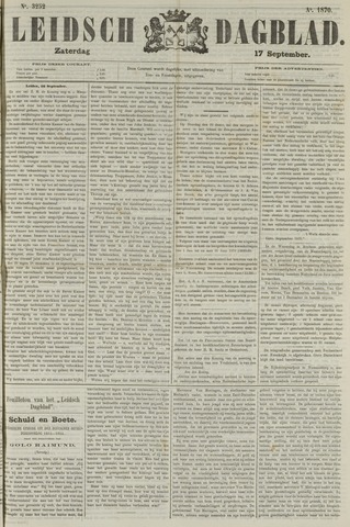 Leidsch Dagblad 1870-09-17