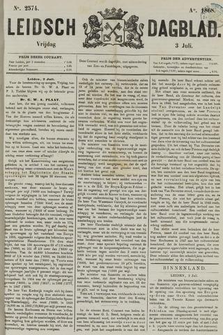 Leidsch Dagblad 1868-07-03