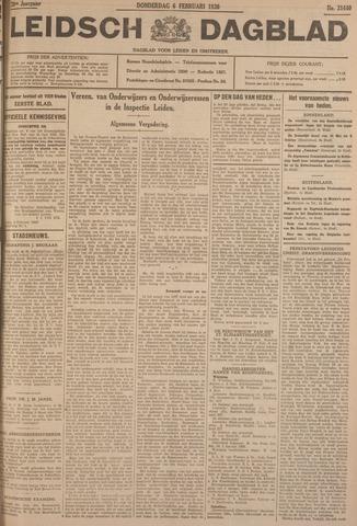 Leidsch Dagblad 1930-02-06
