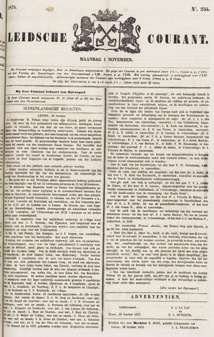 Leydse Courant 1875-11-01