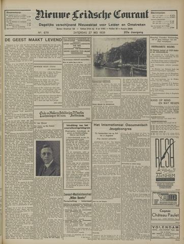 Nieuwe Leidsche Courant 1939-05-27