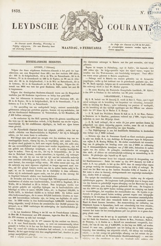 Leydse Courant 1852-02-09
