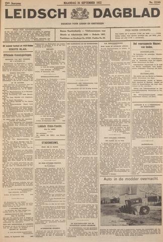 Leidsch Dagblad 1932-09-26