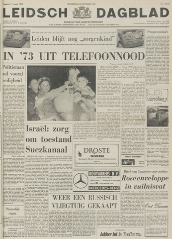Leidsch Dagblad 1970-10-28