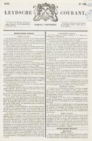 Leydse Courant 1855-09-07