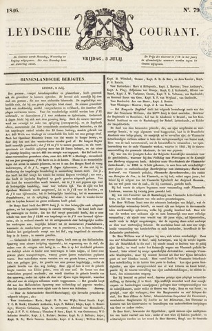 Leydse Courant 1846-07-03