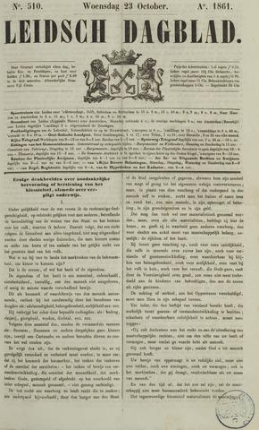 Leidsch Dagblad 1861-10-23