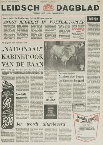 Leidsch Dagblad 1977-11-14