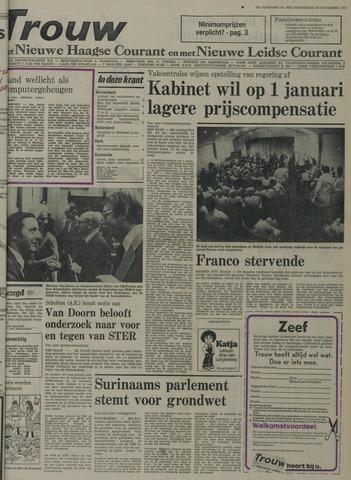 Nieuwe Leidsche Courant 1975-11-20