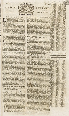 Leydse Courant 1815-03-08