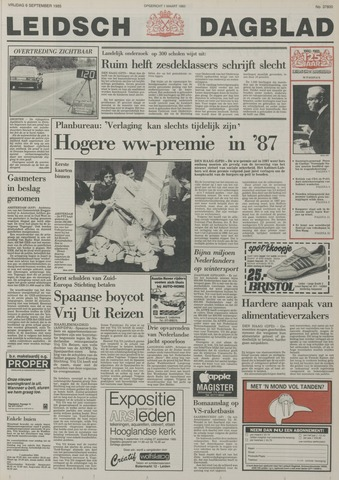 Leidsch Dagblad 1985-09-06