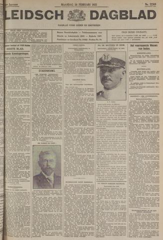 Leidsch Dagblad 1933-02-20