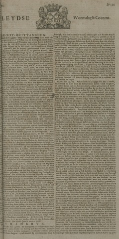 Leydse Courant 1722-07-29