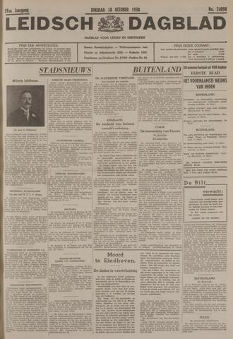 Leidsch Dagblad 1938-10-18