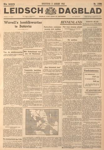 Leidsch Dagblad 1942-01-08