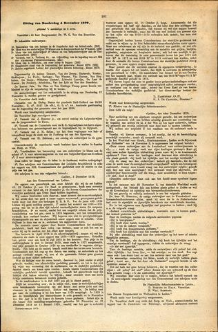 Handelingen van de Raad 1879-12-04