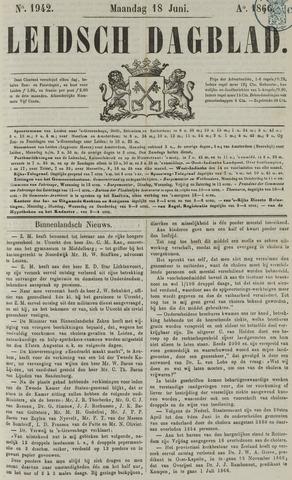 Leidsch Dagblad 1866-06-18