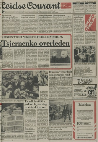 Leidse Courant 1985-03-11