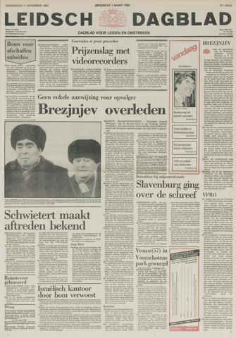 Leidsch Dagblad 1982-11-11