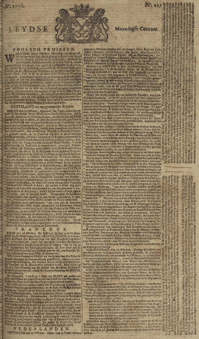 Leydse Courant 1758-10-20