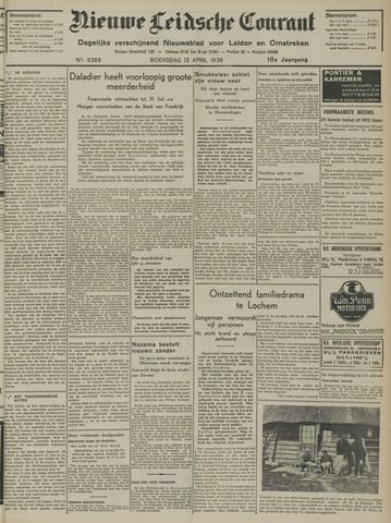 Nieuwe Leidsche Courant 1938-04-13
