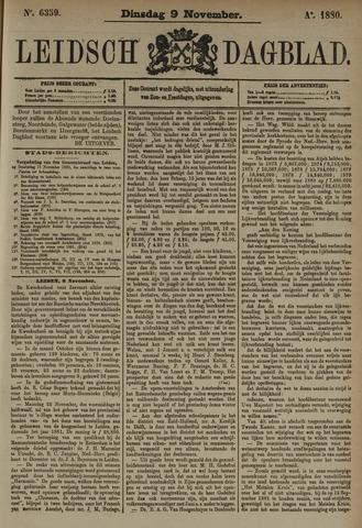 Leidsch Dagblad 1880-11-09