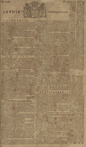 Leydse Courant 1758-03-29