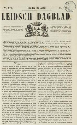 Leidsch Dagblad 1863-04-24