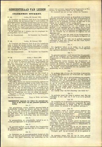 Handelingen van de Raad 1905-03-28
