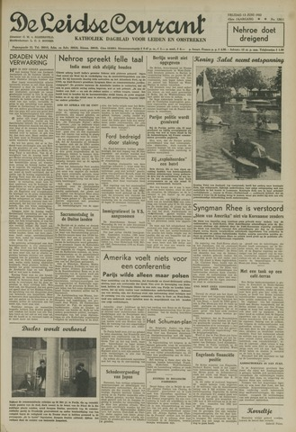 Leidse Courant 1952-06-13