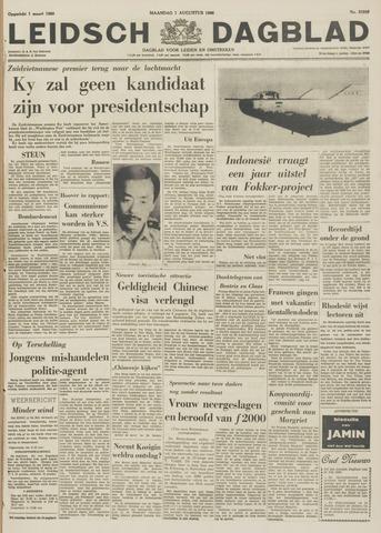 Leidsch Dagblad 1966-08-01