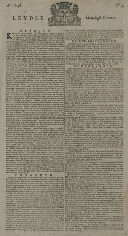 Leydse Courant 1736-01-09